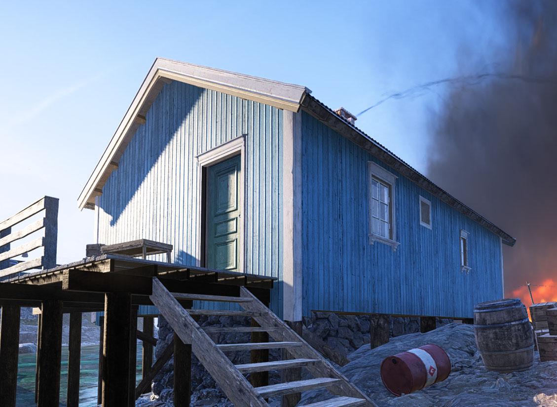Firestorm building H1