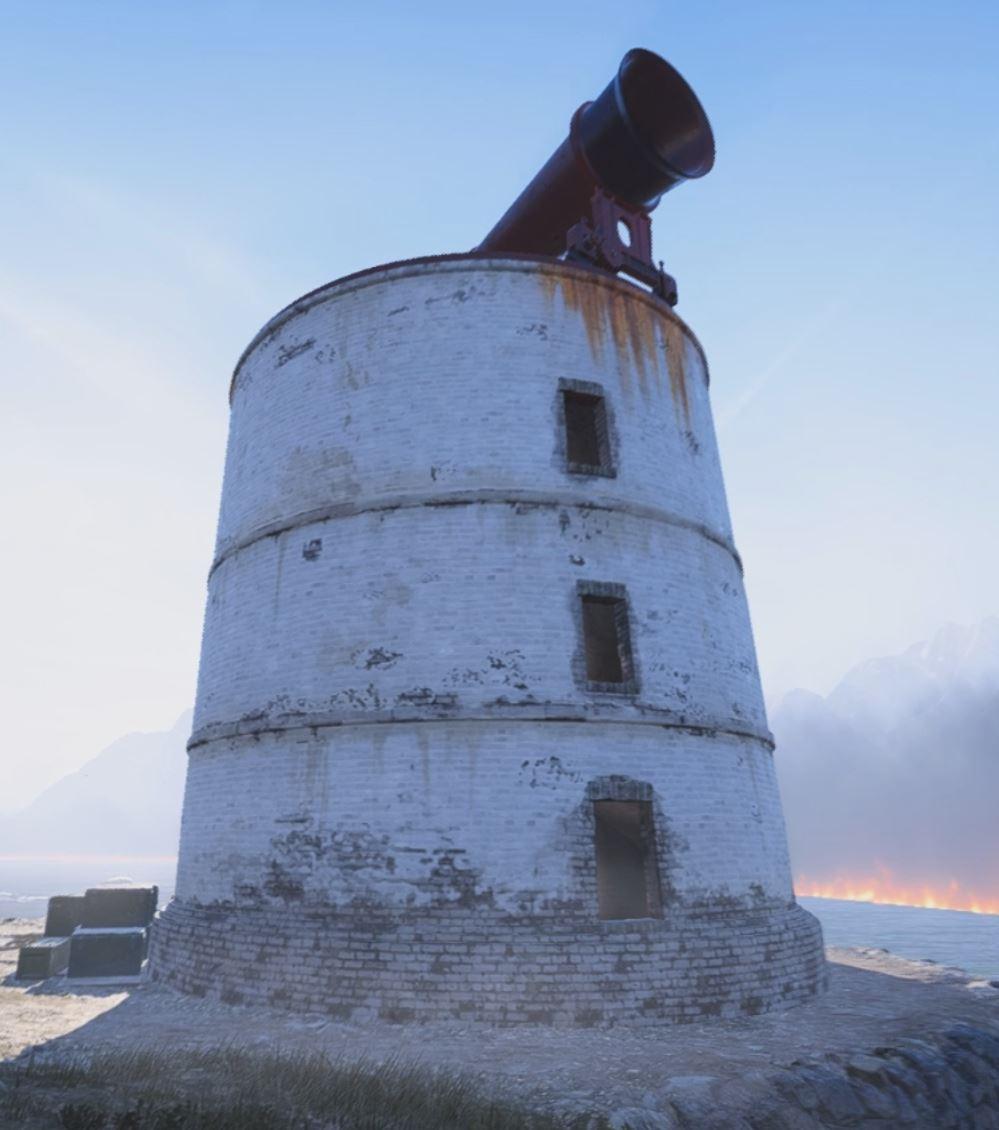 Firestorm building LH2